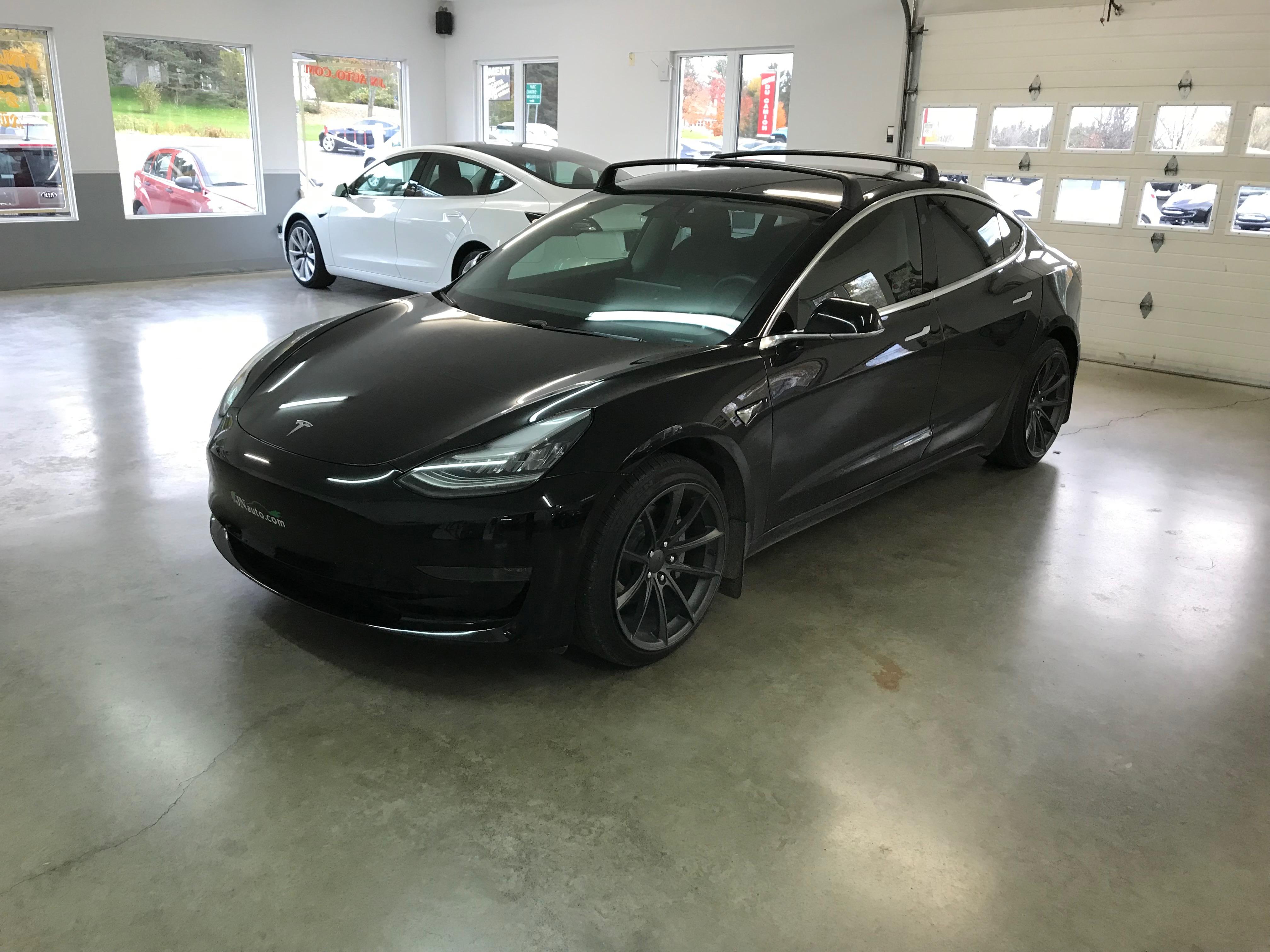 Rack de toit pour Tesla Model 3 - Boutique de bornes ...